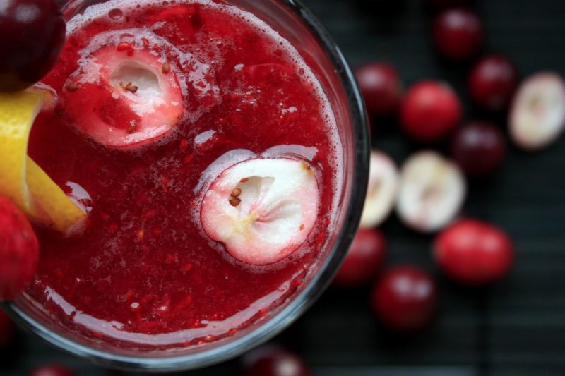 cranberries-smoothie